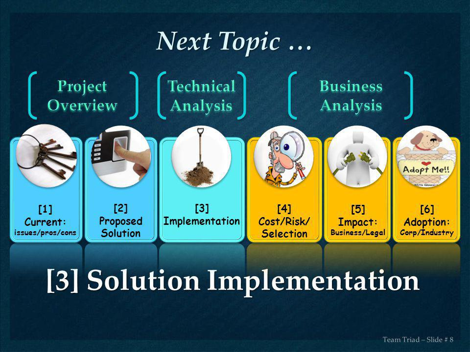 [3] Solution Implementation